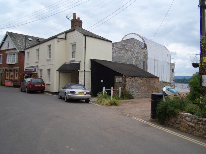 Alterations to existing structure to form new dwelling, Lympstone, 2007